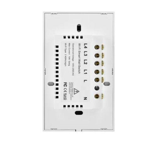 Interruptor 3 Canais Smart WiFi / Acesso Remoto / Compatível com Alexa e Google Assistente - Foto 2