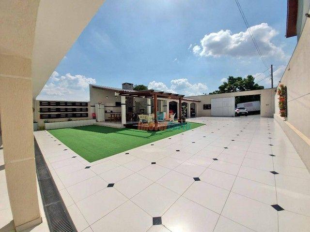 Casa com 5 dormitórios sendo 2 suíte à venda, 500 m² por R$ 1.485.000 - Campo Comprido - C - Foto 13