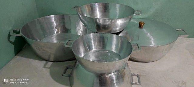 Tachos de alumínio batido tamanhos e valores diferenciados  - Foto 3