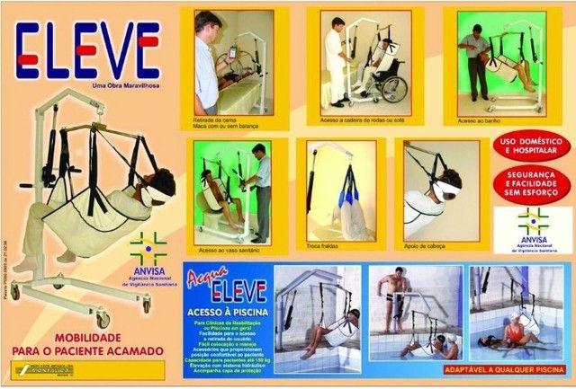 Guincho Acamado Deficiente (marca Eleve) - Foto 4