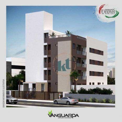 Apartamento com 1 dormitório à venda, 33 m² por R$ 195.000,00 - Jardim Oceania - João Pess