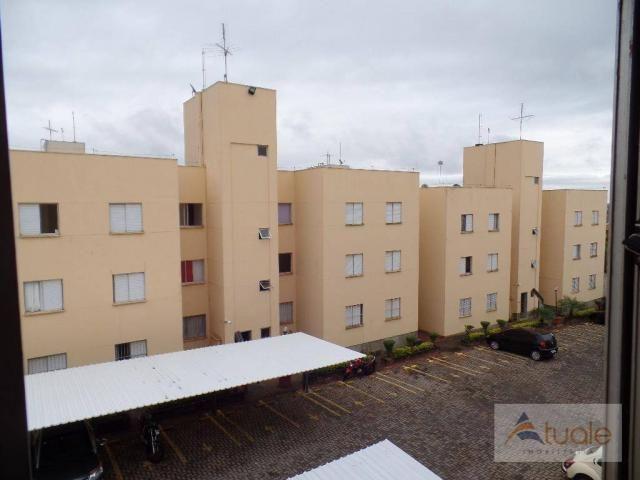Apartamento com 2 dormitórios à venda, 50 m² - parque bandeirantes i (nova veneza) - sumar - Foto 20