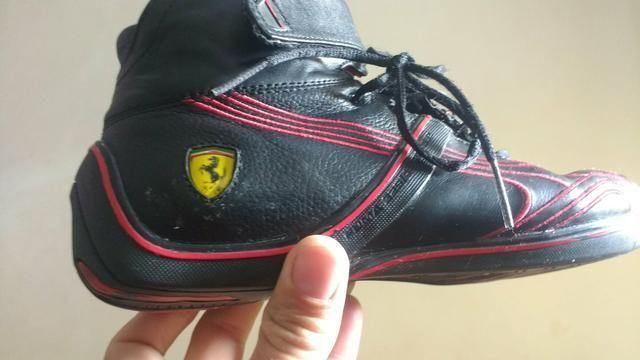 f4389966330 Bota puma Ferrari.couro legítimo
