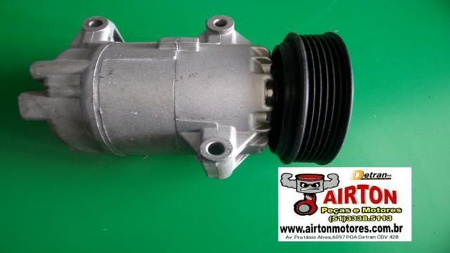 Polia-alternador-compressor-motor-arraque-bloco-virabrequim-comando-volante-cabeçote-tbi - Foto 3