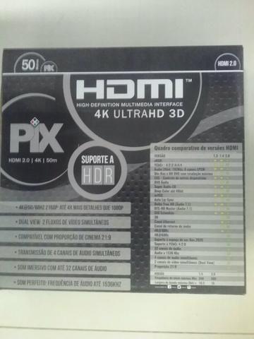 Cabo HDMI 50Mts ( novo com garantia)