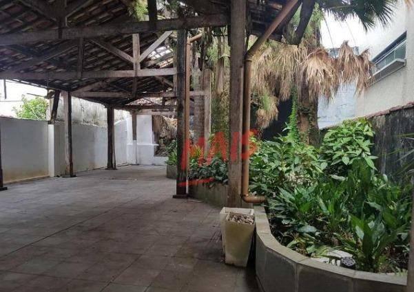Sobrado comercial para alugar, 530 m² - Vila Mathias - Santos/SP