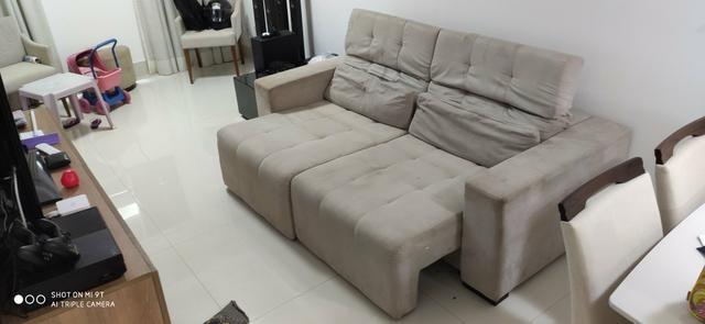 Sofá reclinável com chaise - Foto 2