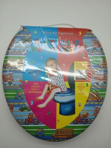 Assento Vaso Sanitário Infantil Redutor Acolchoado Espuma - Foto 3