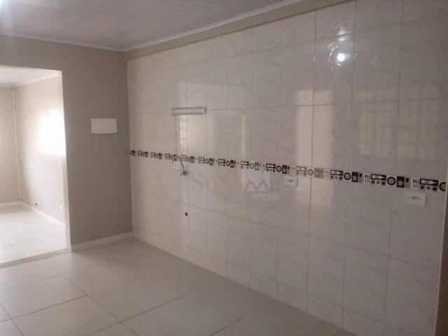 Casa com 1 dormitório para alugar, 40 m² por r$ 1.000,00/mês - pinheirinho - curitiba/pr - Foto 4