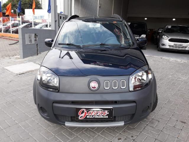 Fiat Uno Vivace Way 1.0 Flex 2014 - Foto 2