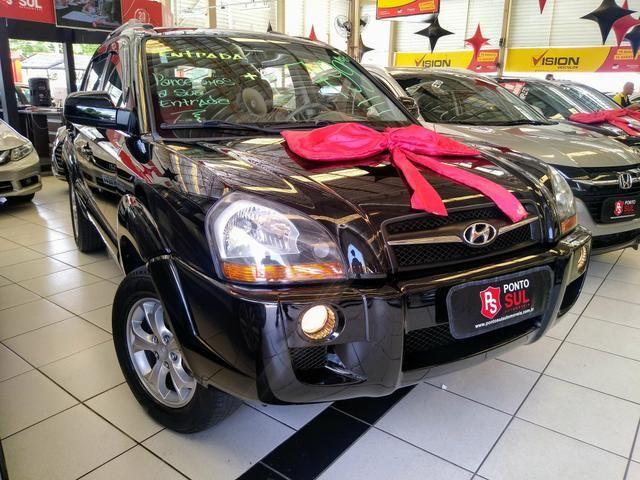 ® Hyundai Tucson GLS 2.0 2012/2013 Automatico Flex Baixo Km Bancos em Couro - Foto 2