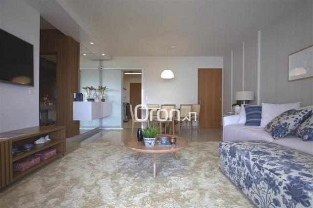 Apartamento com 3 dormitórios à venda, 118 m² por R$ 700.000,00 - Jardim Atlântico - Goiân