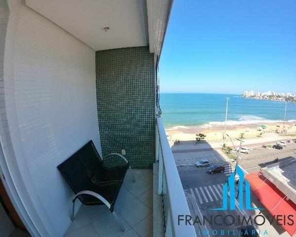 03 Quartos com vista para o Mar todo mobiliado na Praia do Morro