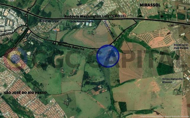 Área com Ótima Localização para seu Negócio perto da Rod Washington Luiz