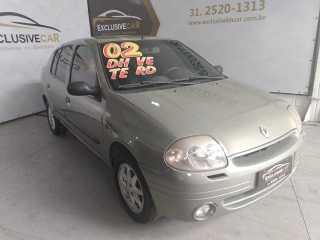CLIO 2002/2002 1.0 RL SEDAN 16V GASOLINA 4P MANUAL
