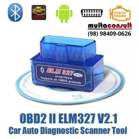 !Sucesso de vendas! Mini Scanner Diagnóstico Motor Carros Obd2 Bluetooth Android - scaner