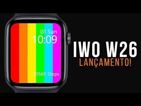 Smartwatch Relógio Iwo 12 Lite Pro W26 Tela Infinita Original