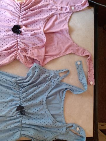 Camisola amamentação e Vestido