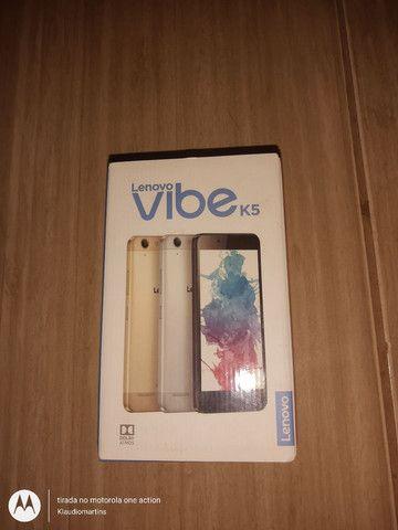 Caixa celular vibe K5