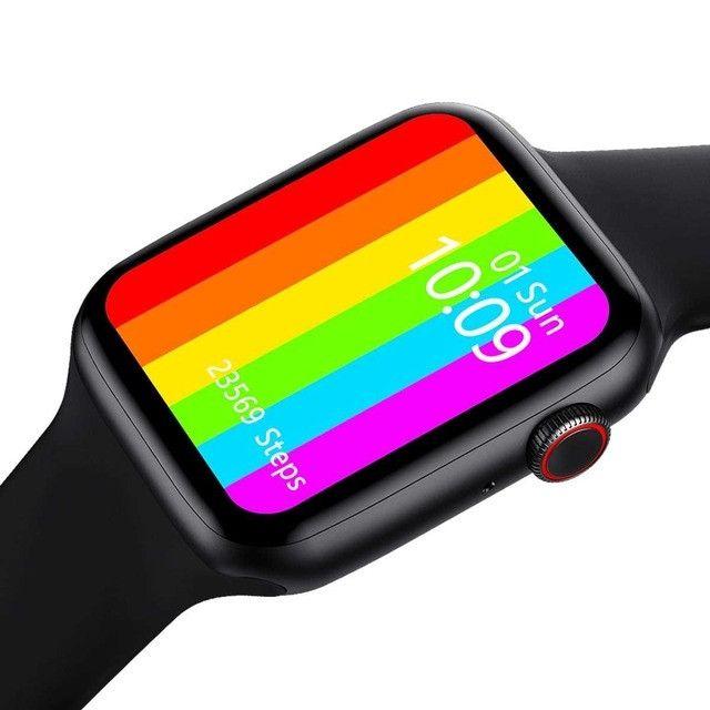 Smartwatch Relógio Iwo 12 Lite Pro W26 Tela Infinita Original - Foto 5