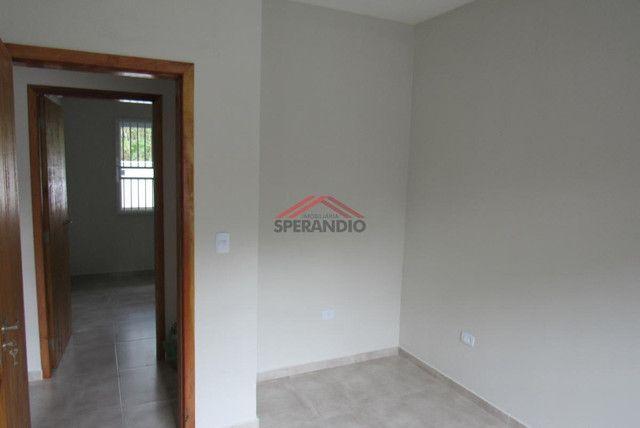 ? Casa nova c/ 2 quartos, ótimo padrão de acabamento R$139.500,00 - Baln. Brandalize - Foto 7