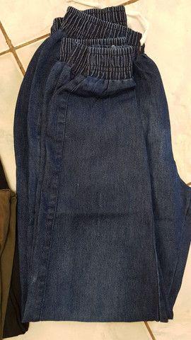 Calça azul marinho  - Foto 2