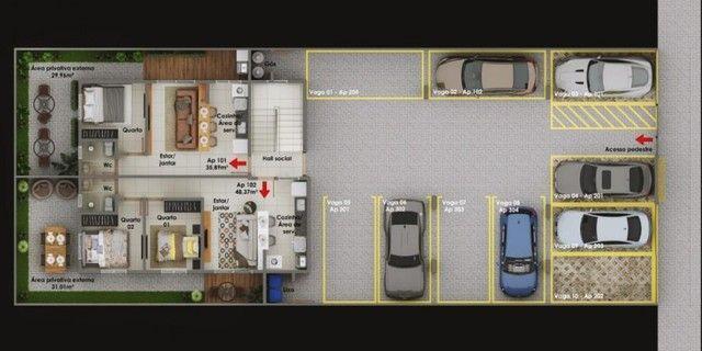 Apartamento com 01 quarto no altiplano  - Foto 5