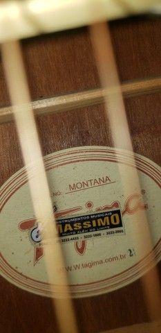 Violão Tagima montana *** leia a descrição *** - Foto 4