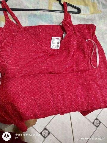 Vestido Novo (P) Apenas R$ 25,00 - Foto 4