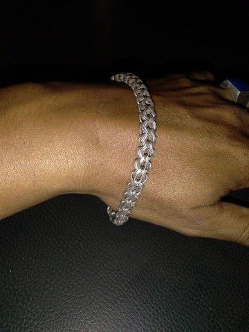 Pulseira de.prata - Foto 4