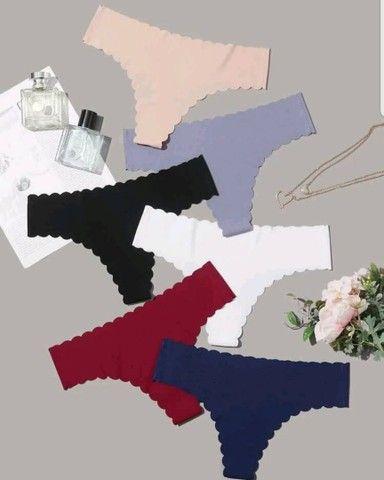 Kit com 6 calcinhas sem costura - Foto 5