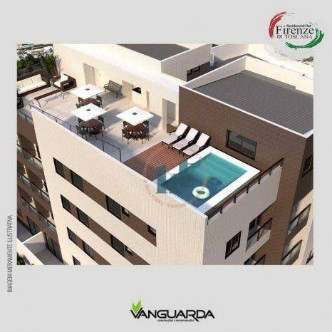 Apartamento com 1 dormitório à venda, 33 m² por R$ 195.000,00 - Jardim Oceania - João Pess - Foto 8