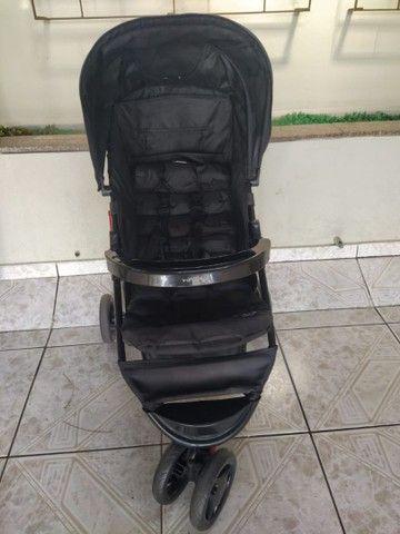 Carrinho Voyage com bebê conforto!! - Foto 3