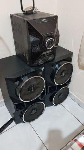 Mini System Sony Mhc-gpx77,bluetooth  1500 W - Foto 2