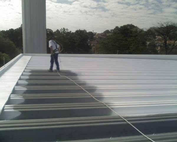 Pintura térmica telhados e coberturas