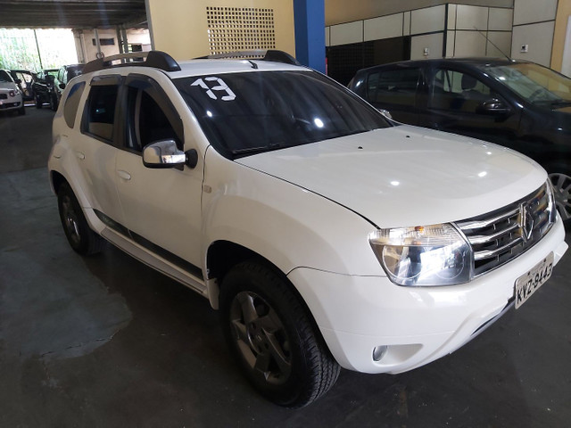 Duster 2013 tech hoad 1.6 completo com gnv.