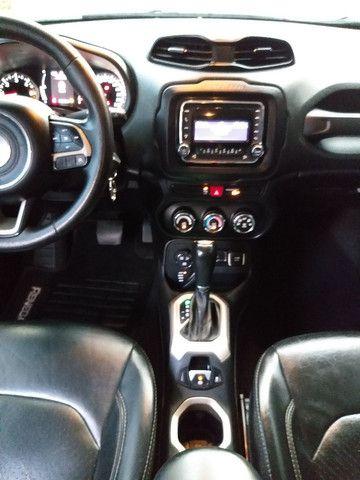 Jeep Renegade Sport TB Diesel 4x4 2.0 2016 AUTOM só 70km Top 9 marc Vist.21 Cartão 12x  - Foto 7