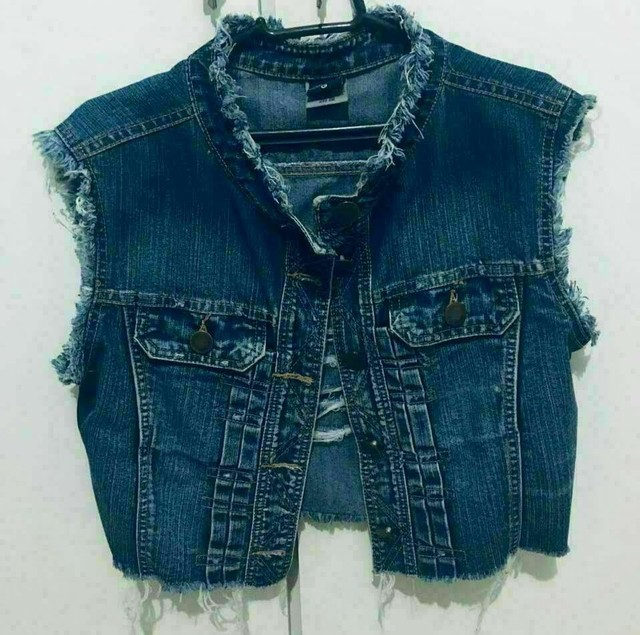 Colete Jeans Sawary