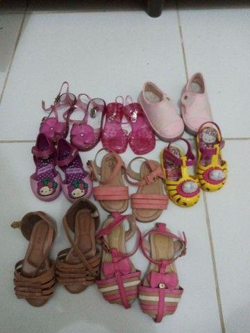 lotinho sandálias De menina