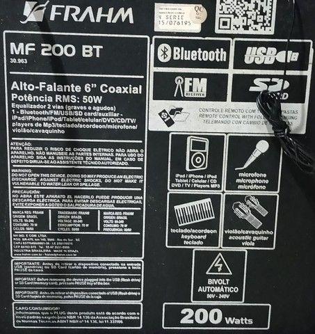 Caixa amplificada frahm 200wtts - Foto 4