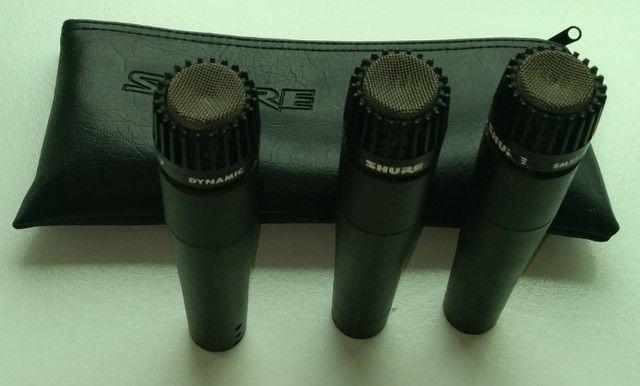 Microfone para Instrumentos Shure SM57