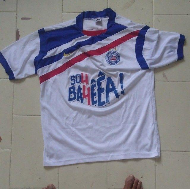 Camisas antigas do Bahia e Flamengo - Foto 3