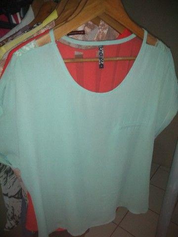 Blusa Verde Tamanho G