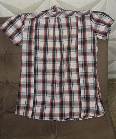 Blusa Xadrez Feminina G  - Foto 2