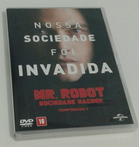 DVD - Mr. robot PRIMEIRA temporada