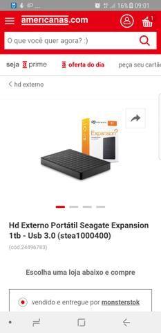 HD EXTERNO Seagate