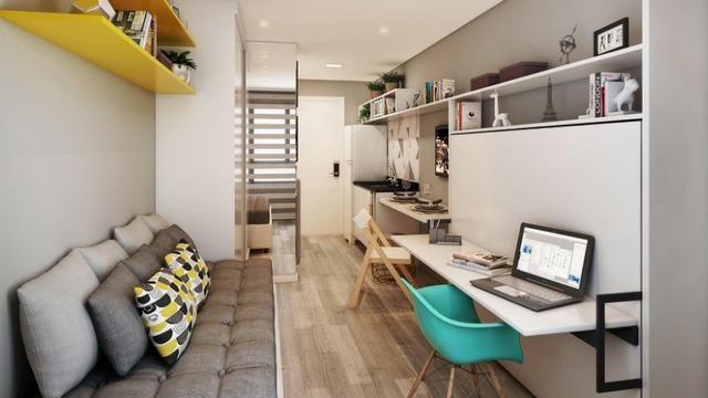 Studio 1 Dormitório Centro de Curitiba - Foto 5