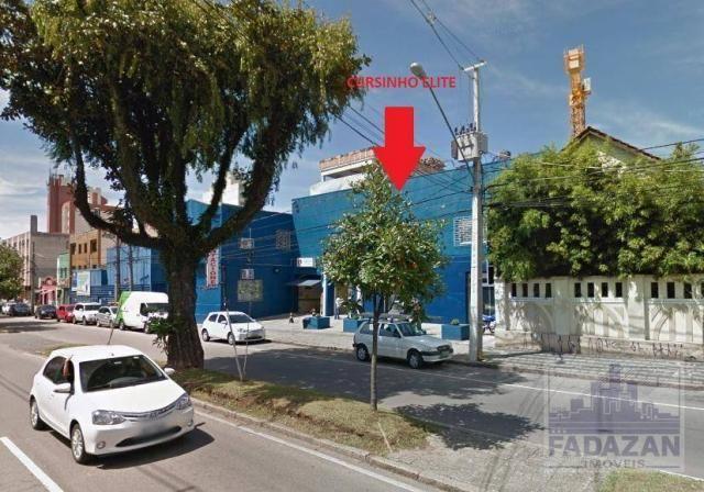 Studio com 1 dormitório para alugar, 28 m² por R$ 1.000,00/mês - São Francisco - Curitiba/ - Foto 10