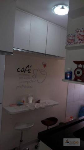 Apartamento com 2 dormitórios à venda, 50 m² - parque bandeirantes i (nova veneza) - sumar - Foto 13