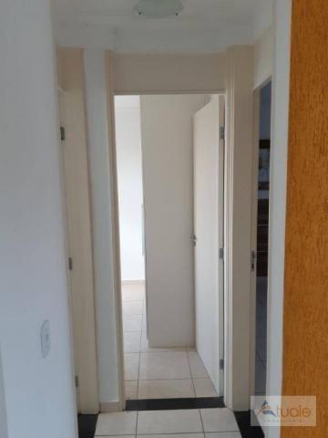 Apartamento com 2 dormitórios para alugar, 46 m² por r$ 1.050,00/mês - parque villa flores - Foto 6